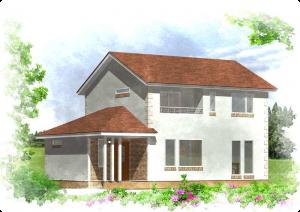 高坂ホームの弥生新道モデルハウス